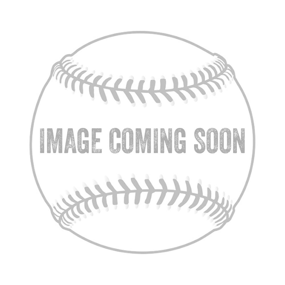 Easton HS7 Adult Batting Gloves White/Orange