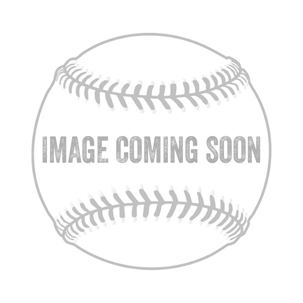Easton HS7 Adult Batting Gloves Black/Black