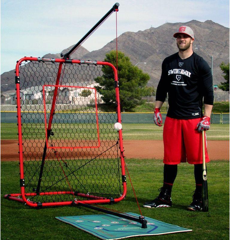 Swingaway mvp ultimate hitting system red for Bryce harper mvp shirt